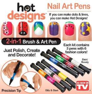 Kreatywny Zestaw Do Paznokci Hot Designs